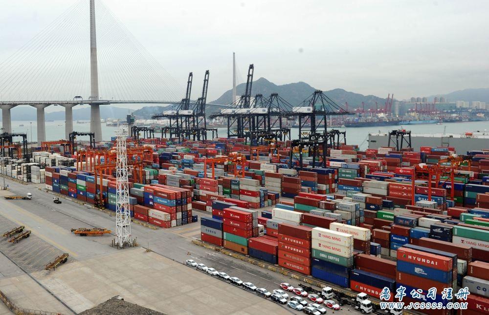 2018首7個月香港進出口貨值雙雙升幅明顯