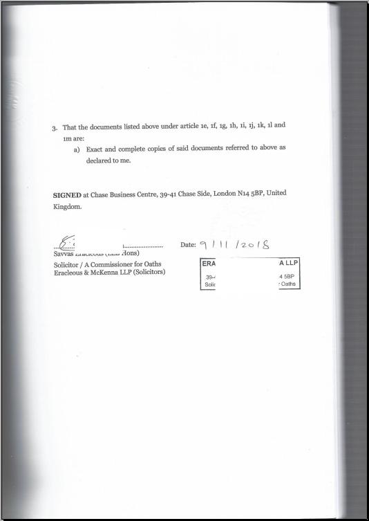 英国公司主体公证样本-2