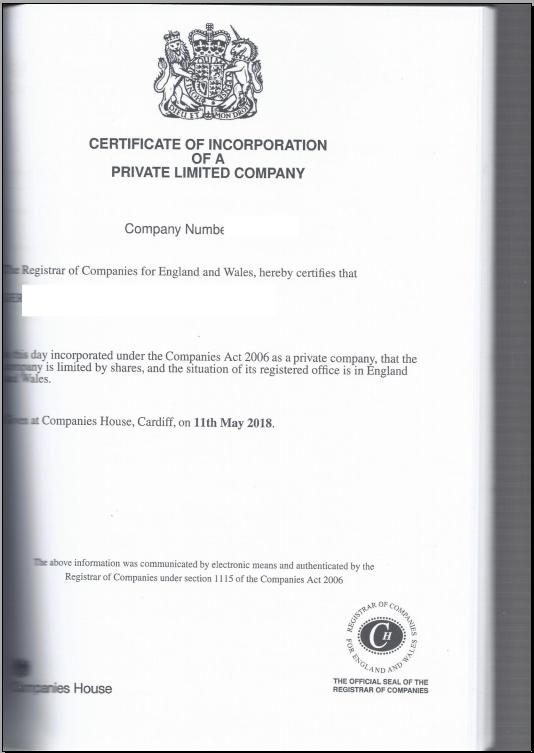 英国公司主体公证样本-4