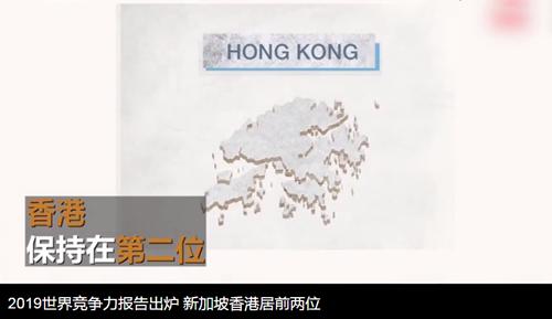2019年度世界竞争力报告出炉,新加坡居榜首,香港第二