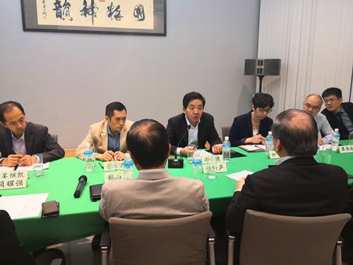 中國駐新加坡大使館舉辦世界經濟形勢與中新經貿合作座談會