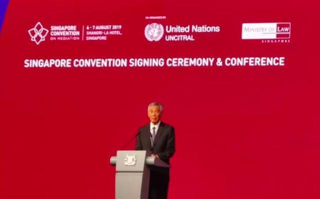 新加坡总理李显龙致辞