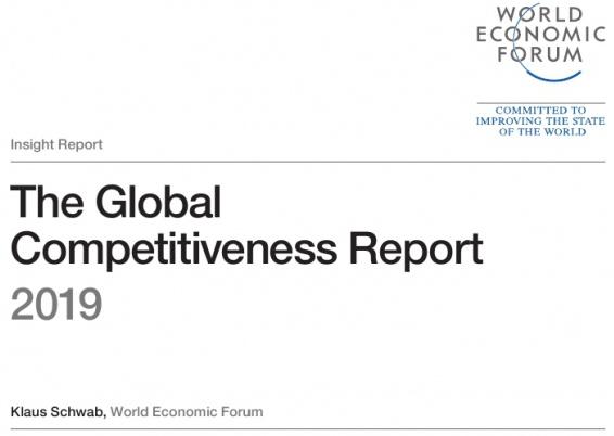 世界经济论坛发布2019年《全球竞争力报告》