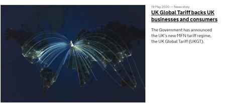UK Global Tariff backs UK businesses and consumers